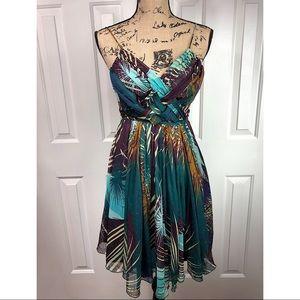 Melle Emma Floral Dress EUC